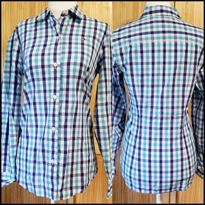 Vineyard Vines Gingham Button Up